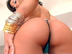 The sexy brunette babe Gianna Michaels and her yummy lesbian friend get incredibly horny toying their delicious little pussies.