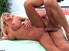 Hypnotize Cougar With Fake Tits Gets Hammered Hardcore