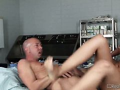 Jack Spade makes her sex dreams a come true with hard cocked guy Sergio