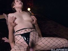 Take a look at this hot scene where this sexy Asian babe is nailed like never before while her moans make you pop one hell of a boner.