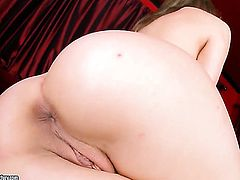 Blonde Blue Angel bares it all in a playful manner