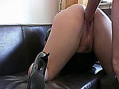My friends horny wife bends over and spreads her holes for a punch fisting and ass fucking attack that makes her scream in orgasm