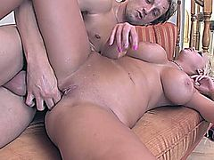 Carly Parker loves Big white dick.