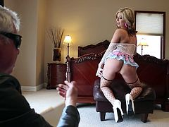 Have fun with this amazing hardcore video where the beautiful Madelyn Monroe shows off her incredible body before being fucked by this guy.