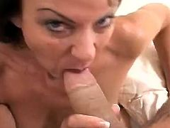 Cheating wife VaNessa videl giving Husbands Ally a sloppy oral-stimulation-service