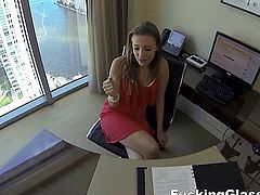 Fucking Glasses -Lunch break secretary fuck