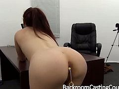 Young mom Danielle gets ass fucked, cums hard, and gets an ambush creampie from Rick on Backroom Casting Couch. Checkout this babe suck fuck and gets her ass filled with cum. Enjoy!