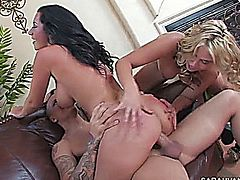 jayden jaymes y sarah vandella in  sharinfg is hot