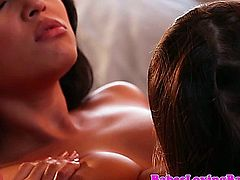 Sara Luvv licking out Adrianna Luna and cant get enough