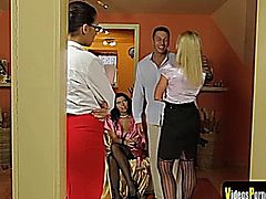 Stunning Czech Girl Kathia Nobili Is The Blond Boss