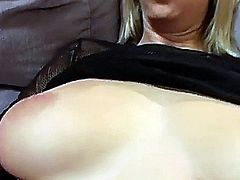 Blonde Brooke Banner gets fucked and facieled