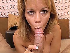 Big Titty MILF Amber is cock hungry