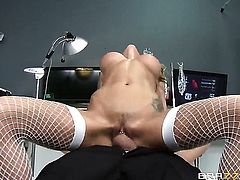 Danny D cant wait any more to shove his meat pole in incredibly hot Juelz Venturas love box