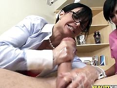 Piercings Jewels Jade moans while sucking Jordan Ashs worm harder and harder