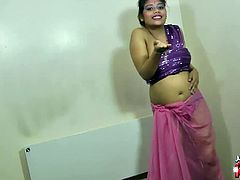 Cute rupali in costume just started undressing showing her juicy pussy. She lies on the floor and wait for the camera to closeup her showing how she plays with her vag.