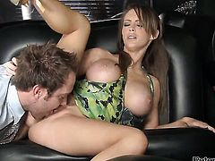 Will Powers has unthinkable oral sex with Jenna Presley