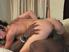 wife seeks sexual fullfilment and gets it from a big black cock.