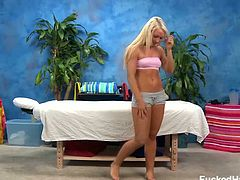 Sienna Splash gets oily massage sex. Watch as she gets seduced by her massage therapists techniques that she loves. Sienna seduced and fucked hard by her massage therapist.