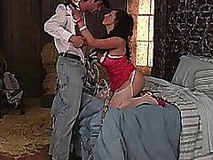 Gianna Michaels and Charles Dera.