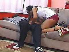 skinny teen fitted by thick black cock