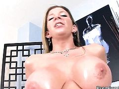 Smoking hot breathtaker Sara Jay taking tool up her twat