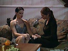Alex Rae and Cleopatra enjoy lesbian pussy licking and fingering