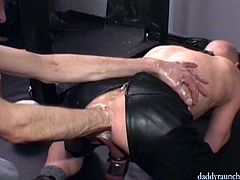 Two extreme horny twinks from Berlin are doing some extreme practices of toying their wide opened asses by toying them with huge sex toys and nasty fisting.