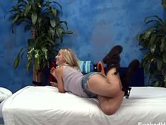 Fucked Hard 18 brings you a hell of a free porn video where you can see how the alluring blonde teen Casi James gets sensually massaged while assuming hot poses.
