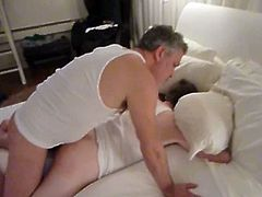 Maverick Men brings you a hell of a free porn video where you can see how this horny amateur stud gets his ass fingered and barebacked into a massive anal orgasm.