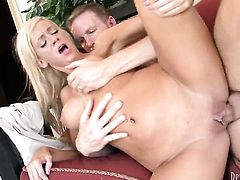 Rod Fontana uses his hard boner to bring Kendra Secrets to the height of pleasure