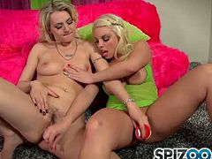 Best friends Britney Amber and Natasha Starr decide to get together for an evening of girl time. They could always feel sexual tension between them and so they decide to play a little sex game. As each card is drawn, the game gets hotter. Clothes start to cum off and the girls begin to get down right naughty. They feast on each others giant tits and slurp on each others dripping wet pussies. Fulfilling the long time yearning lesbian fantasy fuck fest they have been lusting for!