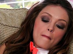 Taylor Ashley cant live a day without playing with her wet hole