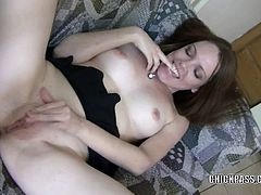 Chick Pass Amateur Network brings you a hell of a free porn video where you can see how the petite redhead Taylor Rain fucks her sweet pussy with her fingers til she cums very hard.