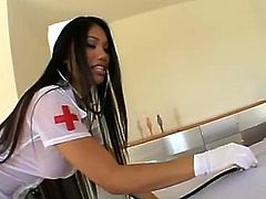 Asian Nurse Lucy Thai Rescues BBC Fuct 420