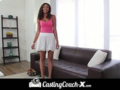 Ebony Vivica is ready to show her stuff on the casting couch
