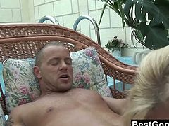 Mature cougar Melissa Q is naked and first time tasting and fucking with a young man and her fresh dick. She love every single moment of it you can see it to her horny expressions.