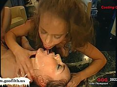Victoria and other sexy young girls who love cum get countless facials and taste spunk from many men. They love to have jizz dripping off their pretty faces.