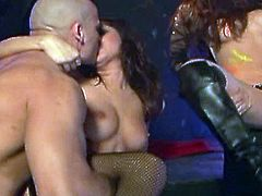 There is a hot sex action as babes and cocks combine to give you the most exciting dp action you will ever see.