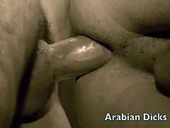 Beefy Arab boys with thickest cocks in vintage style. They are ready to give each other the best time together on camera. Don't miss out as horny arab stud gets his fat hard cock deep throated and rimmed.