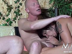 The big orgy has started. Nobody goes home unfucked. German Teens and Mature babes come together to suck, fuck and get fucked!