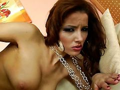 Angel Dark cant live a day without toying her twat