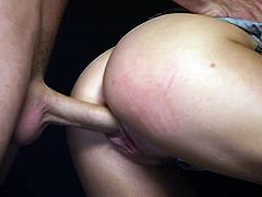 Ash Hollywood blowjobs a cock for hardcore masturbation