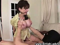 Lady Sonia gets ass cummed on