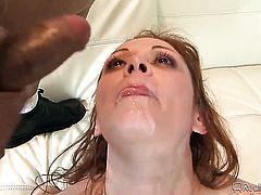 Julius Ceazher getting her dripping wet vagina rammed by Nathan Threat