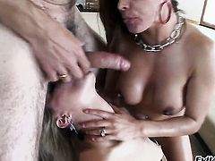 Steven French gets pleasure from fucking amazing Francesca Les chocolate speedway before suck job