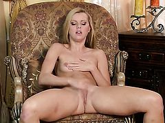 Jessie Rogers dreaming about real sex with real man with her fingers in her love tunnel