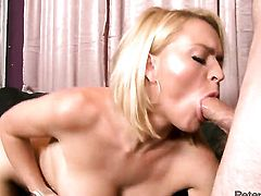 Krissy Lynn has some dirty fantasies to be fulfilled with guys throbbing love wand in her mouth