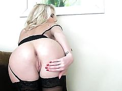 Danielle Maye cant stop touching her love tunnel