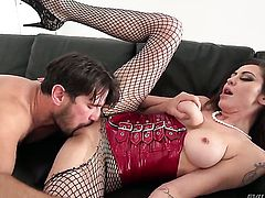 Princess Donna is desperate for oral sex and Manuel Ferrara knows it after anal sex