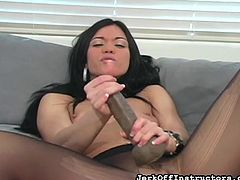 imagine the dildo was your cock